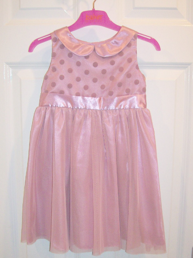 NEW GIRLS NEXT PARTY DRESS AGE 2-3, Pink Tulle net satin Party Dress ...